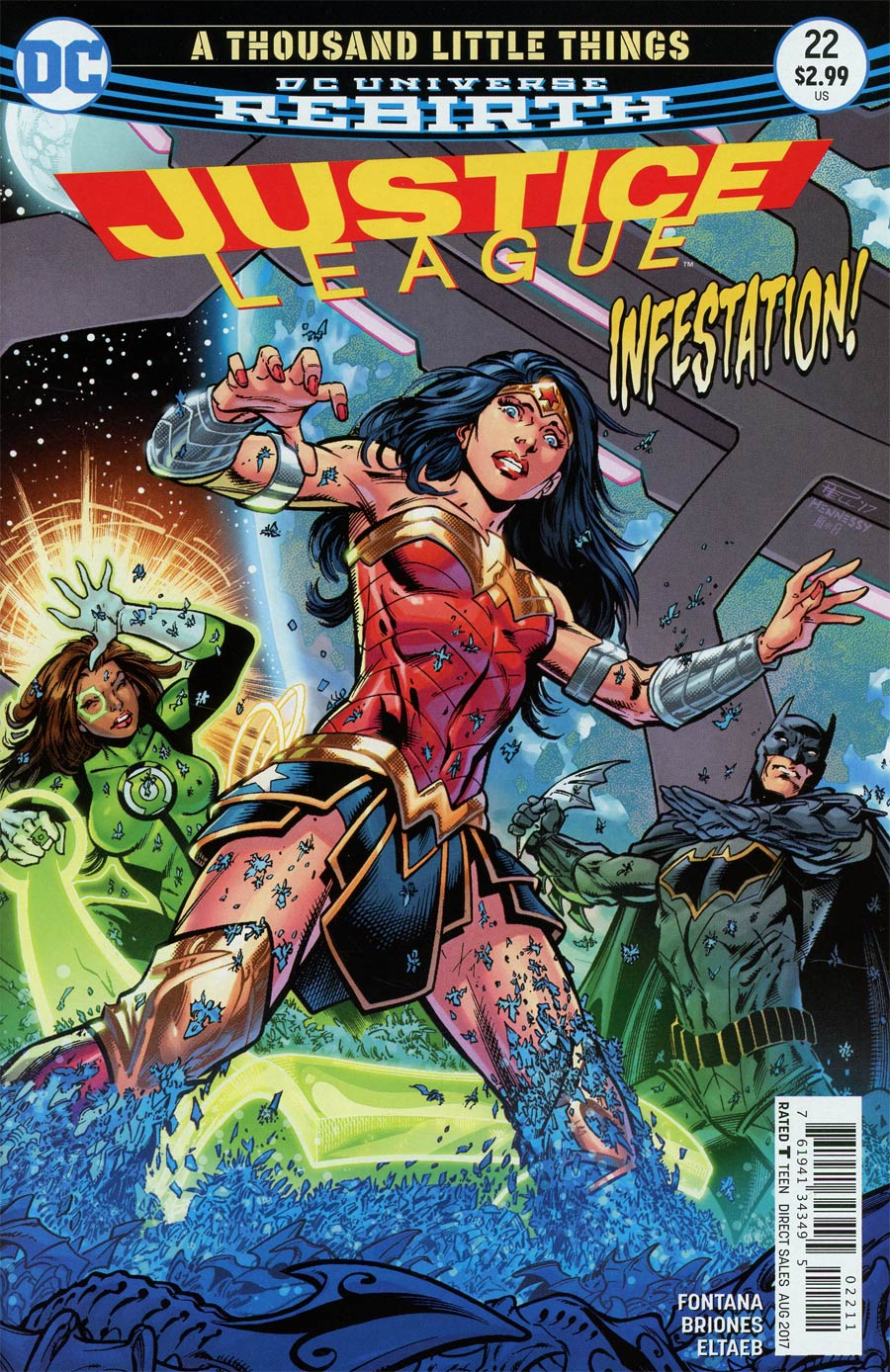 Justice League Vol 3 #22 Cover A Regular Paul Pelletier Cover
