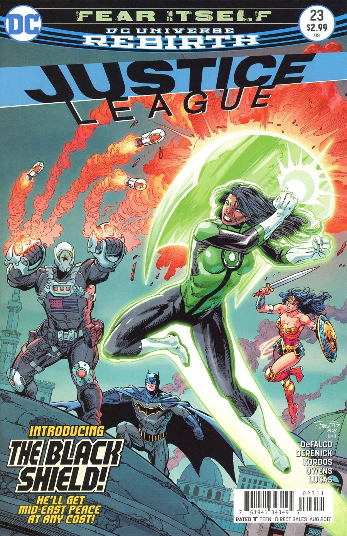 Justice League Vol 3 #23 Cover A Regular Paul Pelletier & Tony Kordos Cover