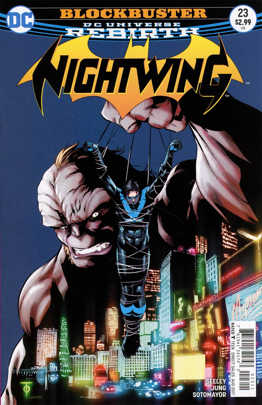 Nightwing Vol 4 #23 Cover A Regular Paul Renaud Cover