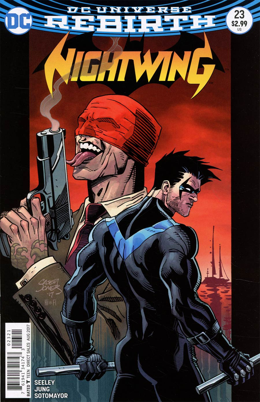 Nightwing Vol 4 #23 Cover B Variant Casey Jones Cover