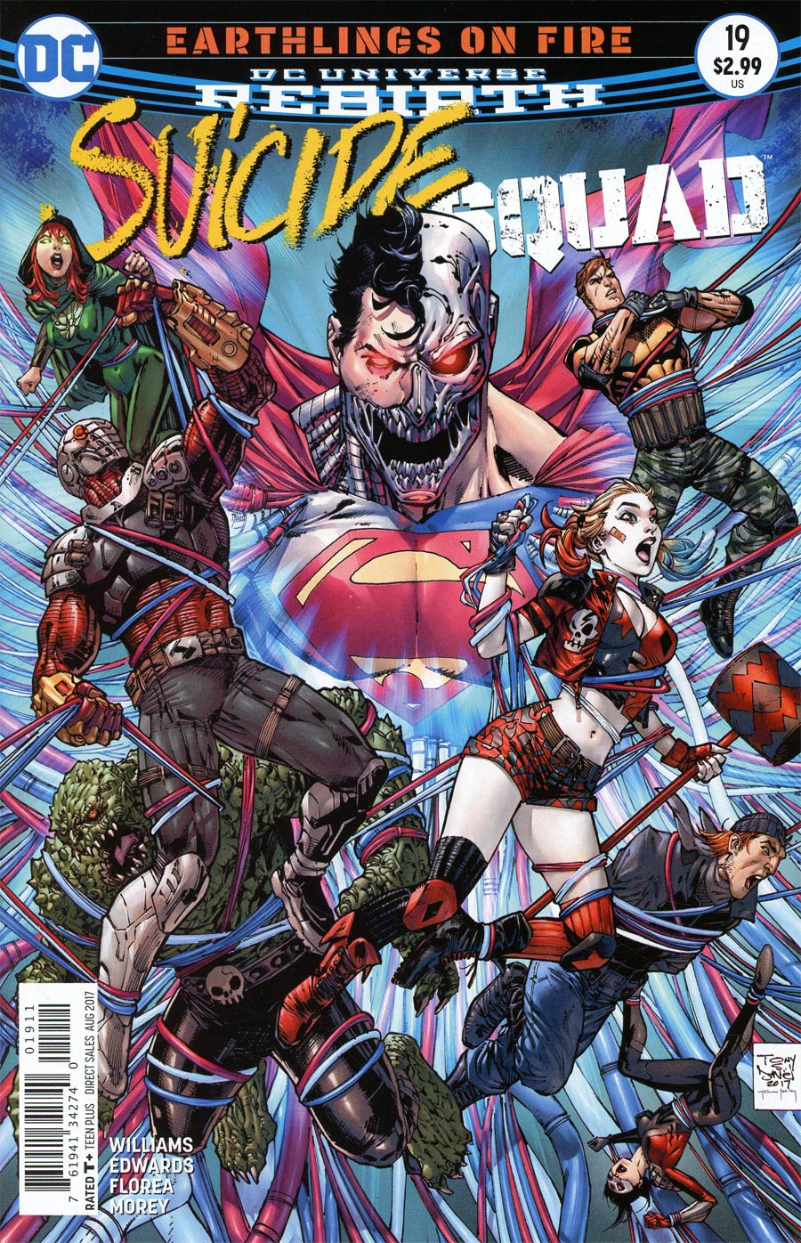 Suicide Squad Vol 4 #19 Cover A Regular Tony S Daniel & Sandu Florea Cover