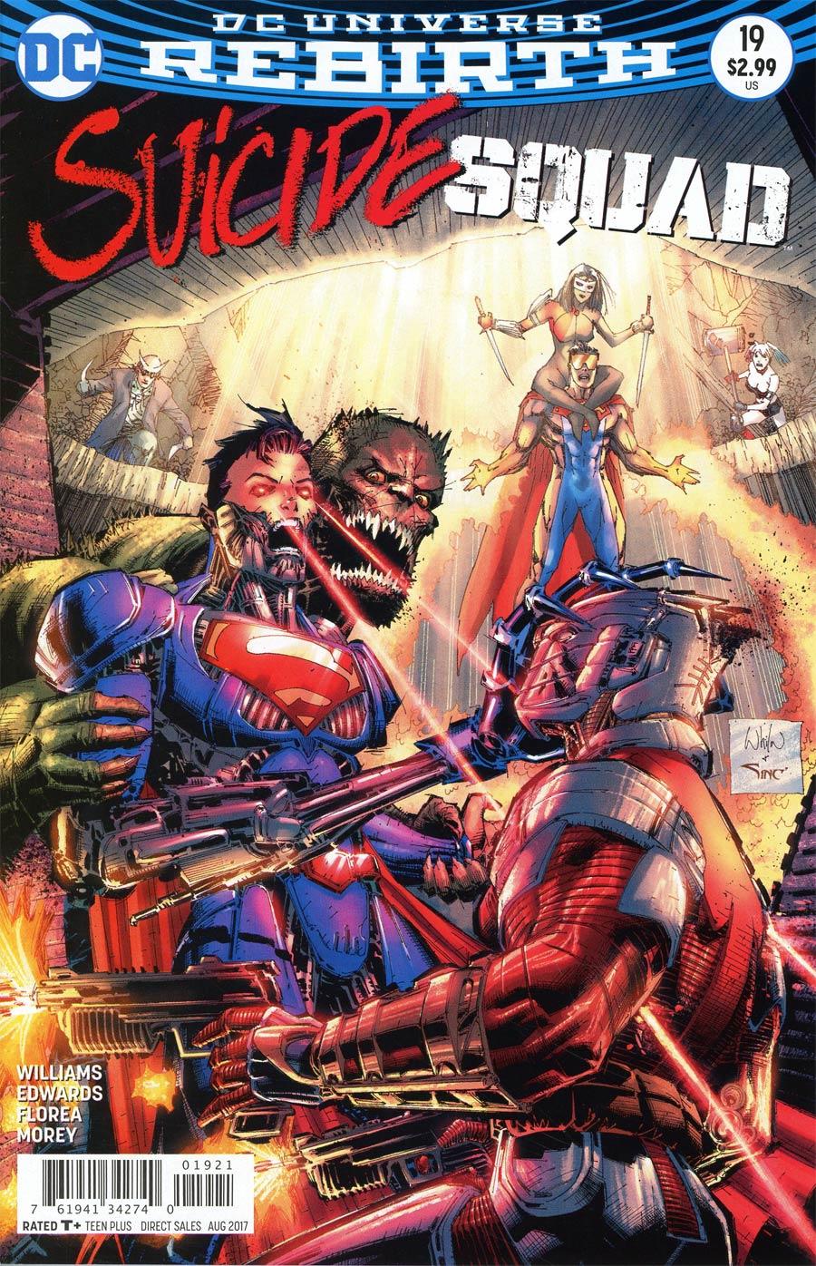 Suicide Squad Vol 4 #19 Cover B Variant Whilce Portacio Cover