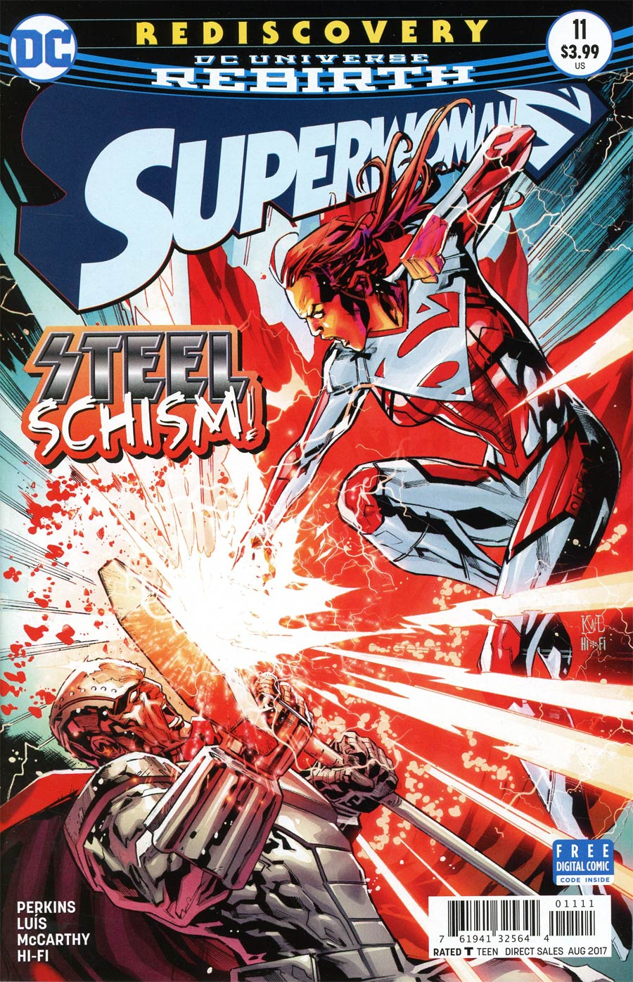 Superwoman #11 Cover A Regular Ken Lashley Cover