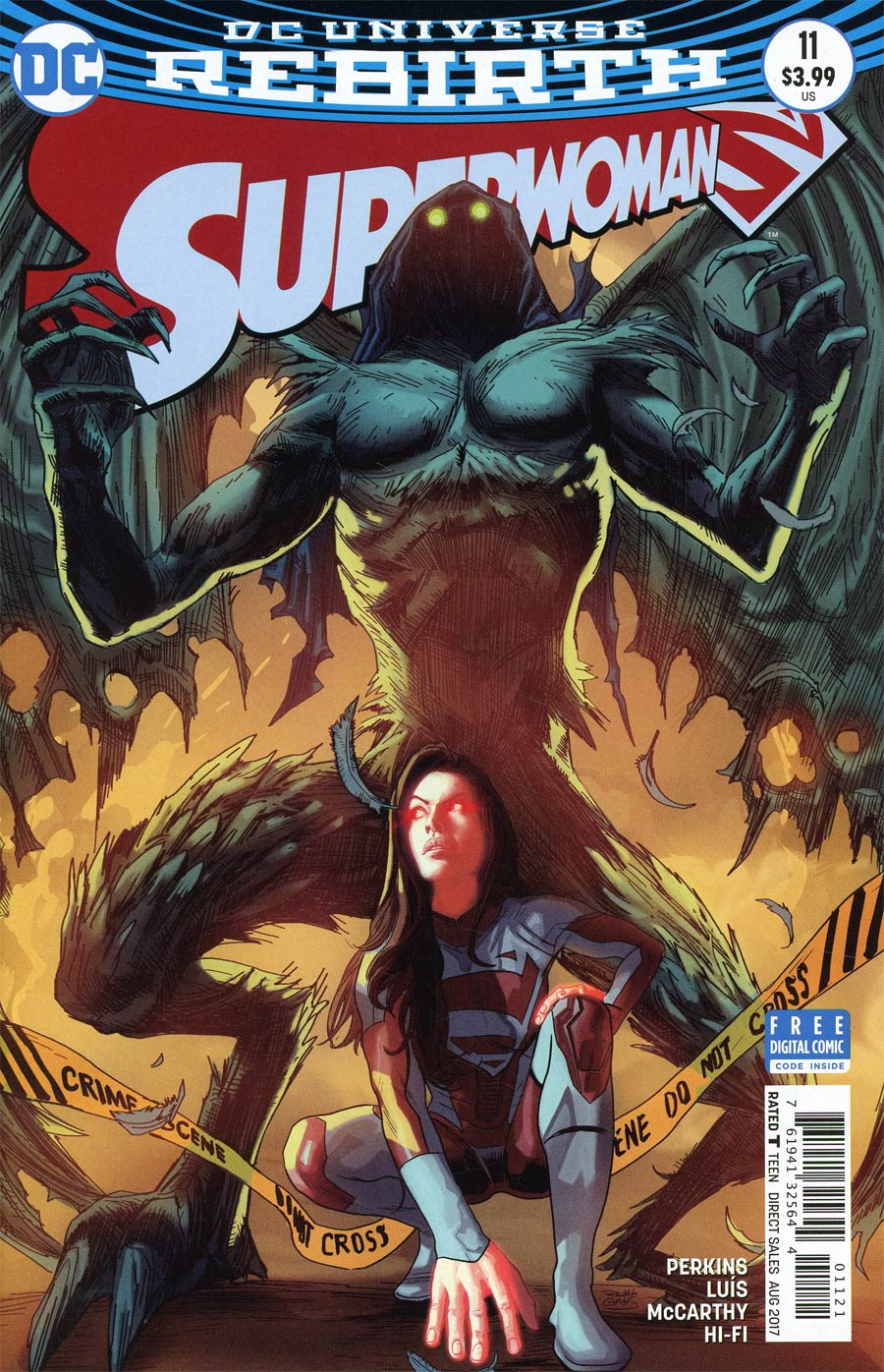 Superwoman #11 Cover B Variant Renato Guedes Cover