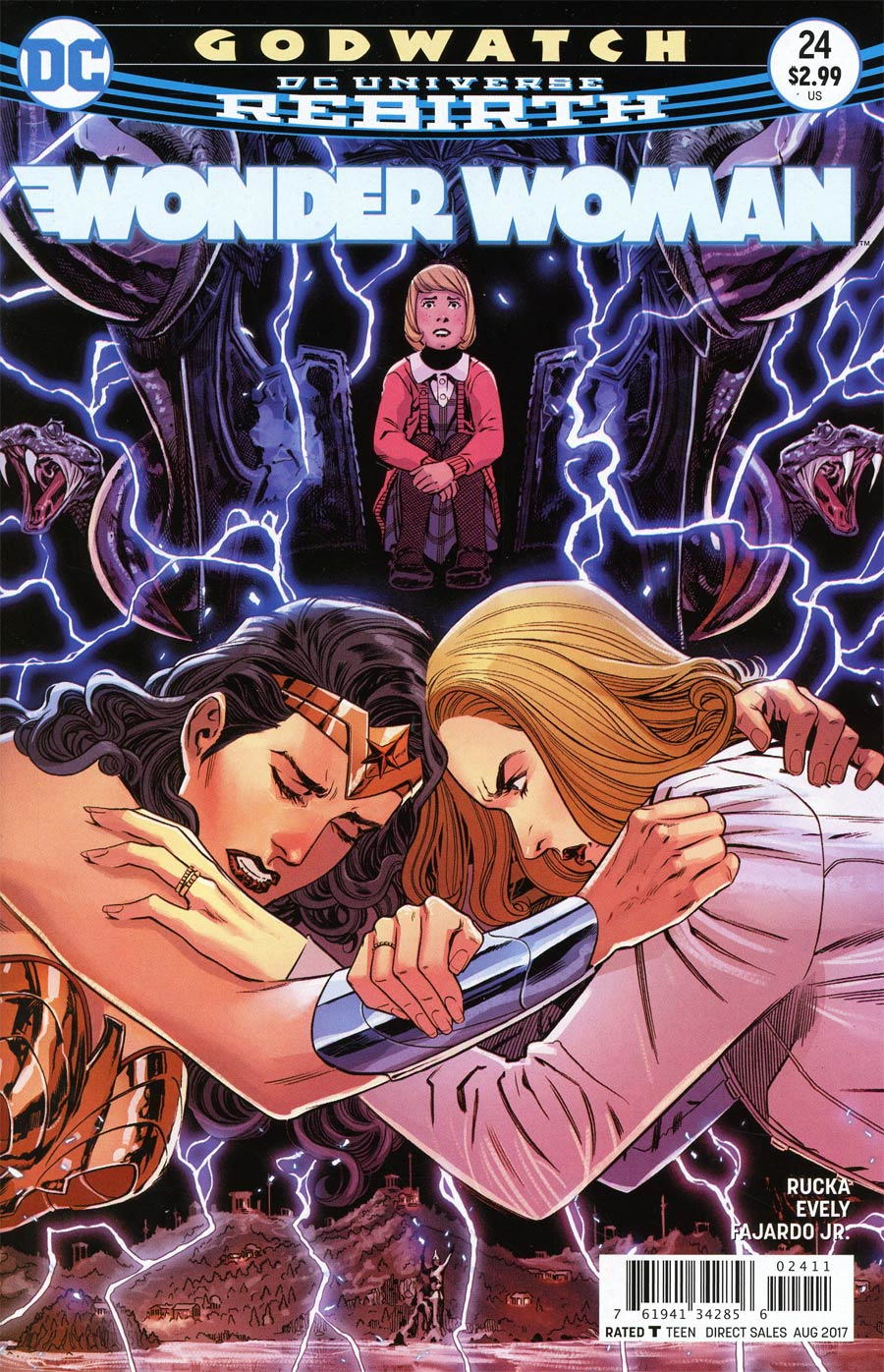 Wonder Woman Vol 5 #24 Cover A Regular Bilquis Evely Cover