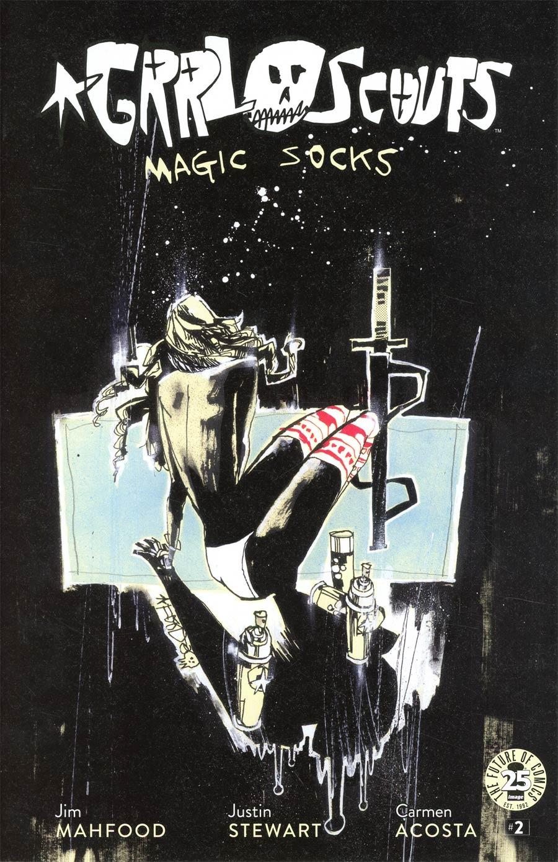 Grrl Scouts Magic Socks #2 Cover A Regular Jim Mahfood Cover