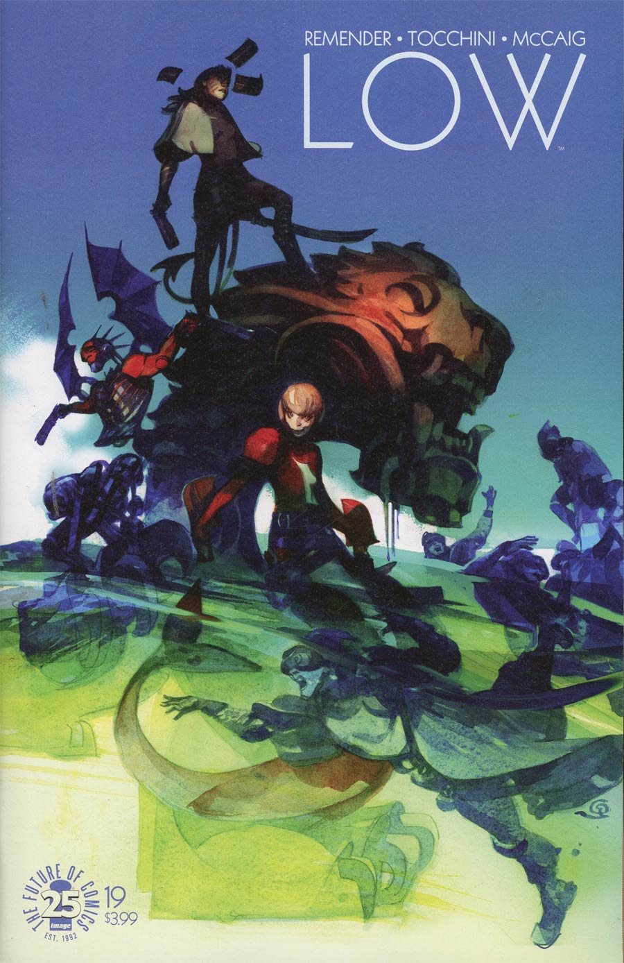 Low #19 Cover A Greg Tocchini & Dave McCaig