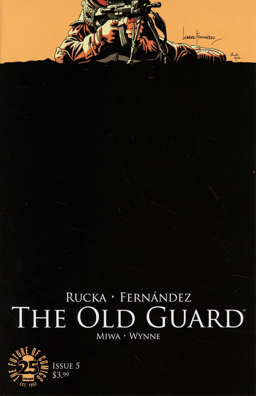 Old Guard #5 Cover A Regular Leandro Fernandez Cover