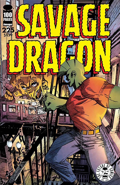 Savage Dragon Vol 2 #225 25th Anniversary Cover B Variant Frank Fosco Cover