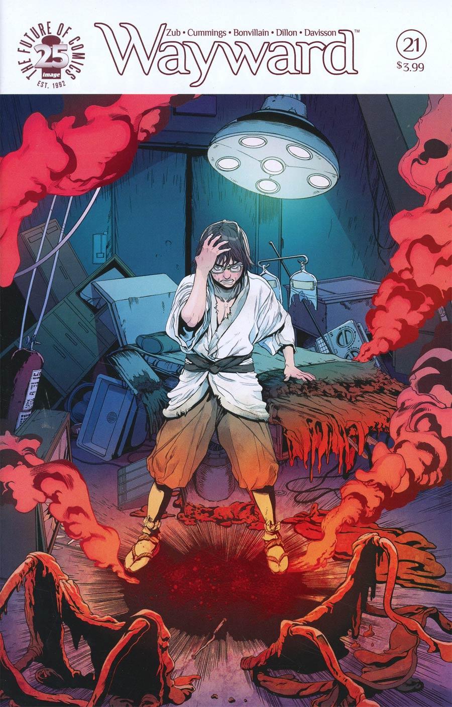 Wayward #21 Cover A Steven Cummings & Tamra Bonvillain