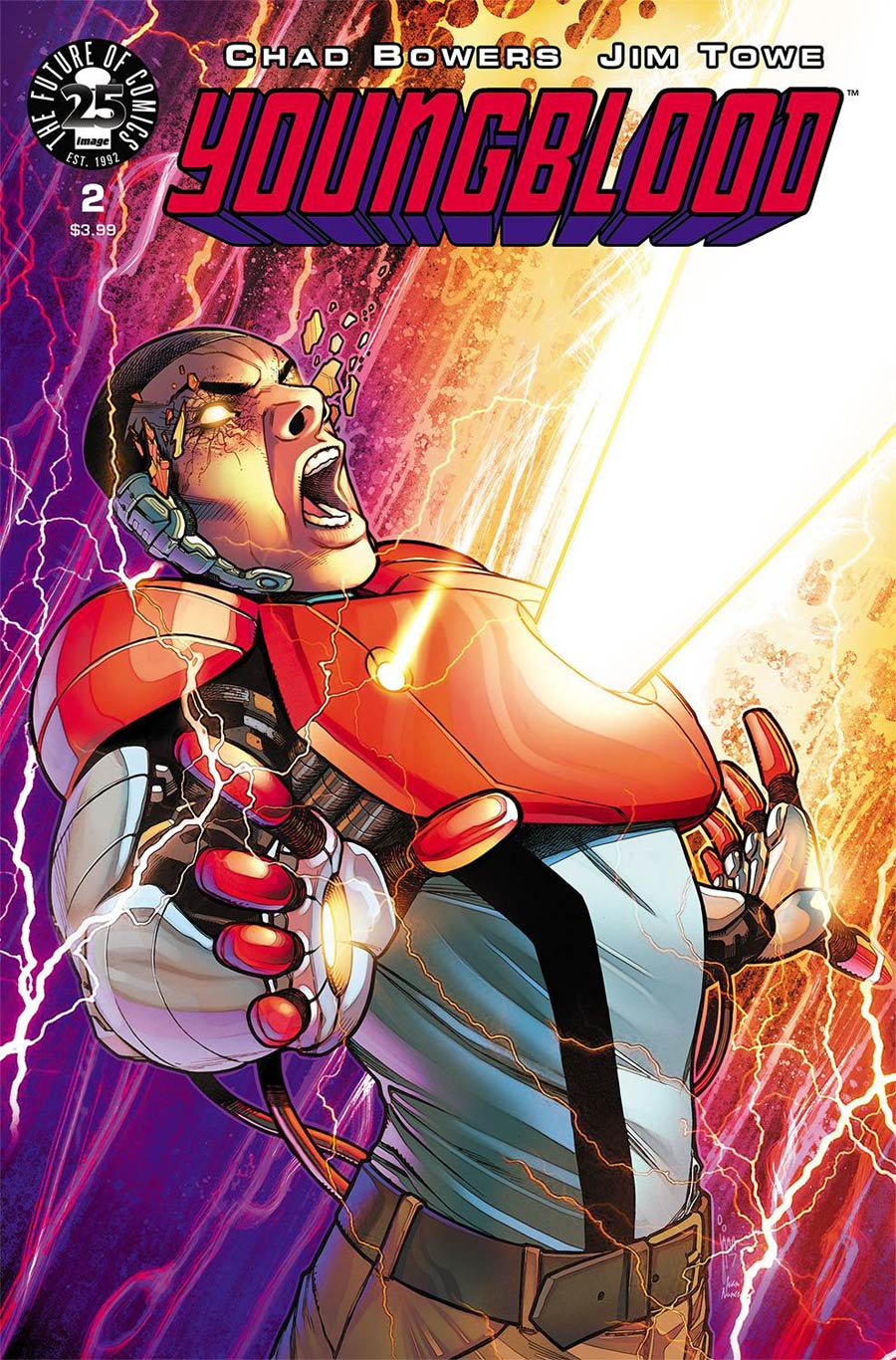Youngblood Vol 5 #2 Cover A 1st Ptg Jim Towe