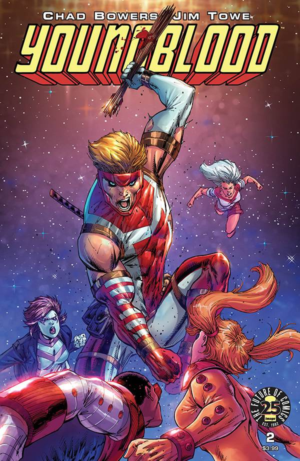 Youngblood Vol 5 #2 Cover B Rob Liefeld