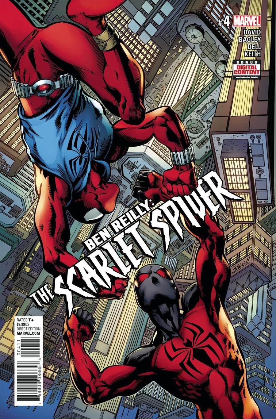 Ben Reilly The Scarlet Spider #4