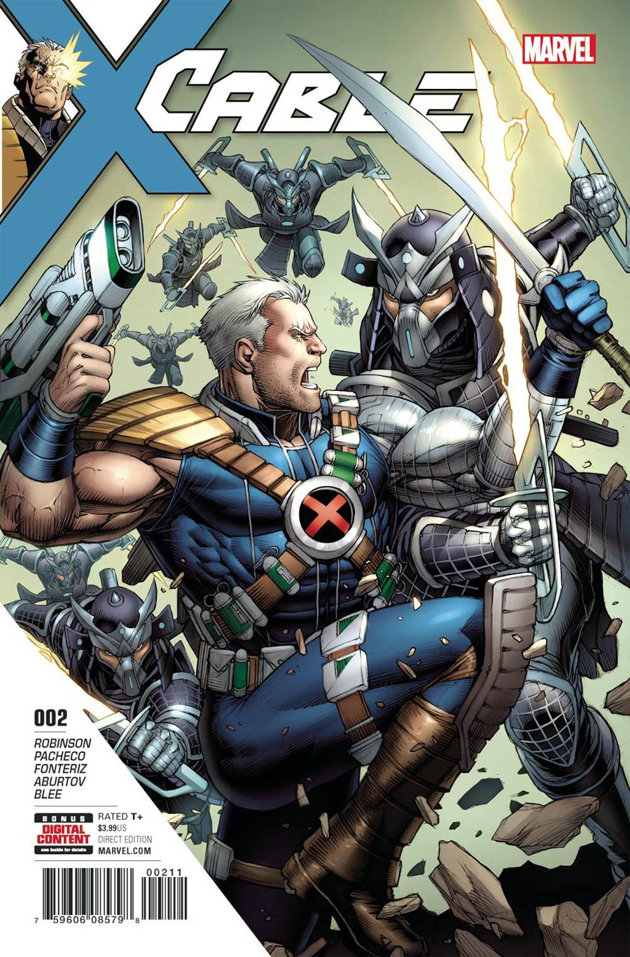 Cable Vol 3 #2 Cover A Regular Dale Keown Cover