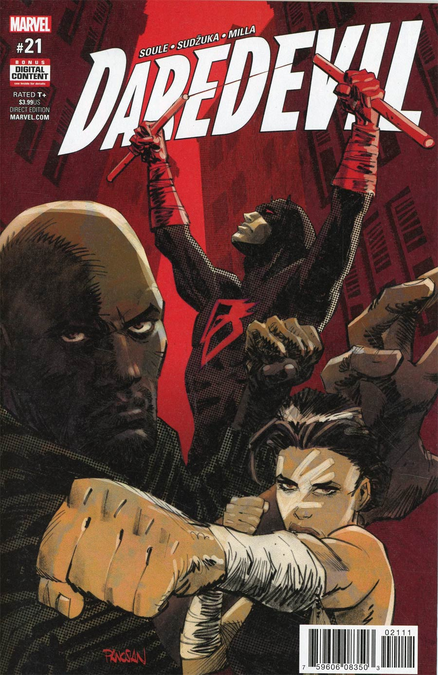 Daredevil Vol 5 #21 Cover A Regular Dan Panosian Cover