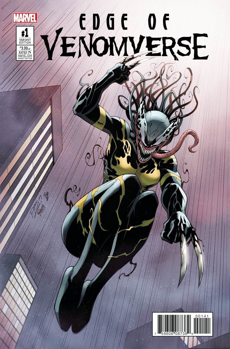 Edge Of Venomverse #1 Cover B Variant Ron Lim Cover