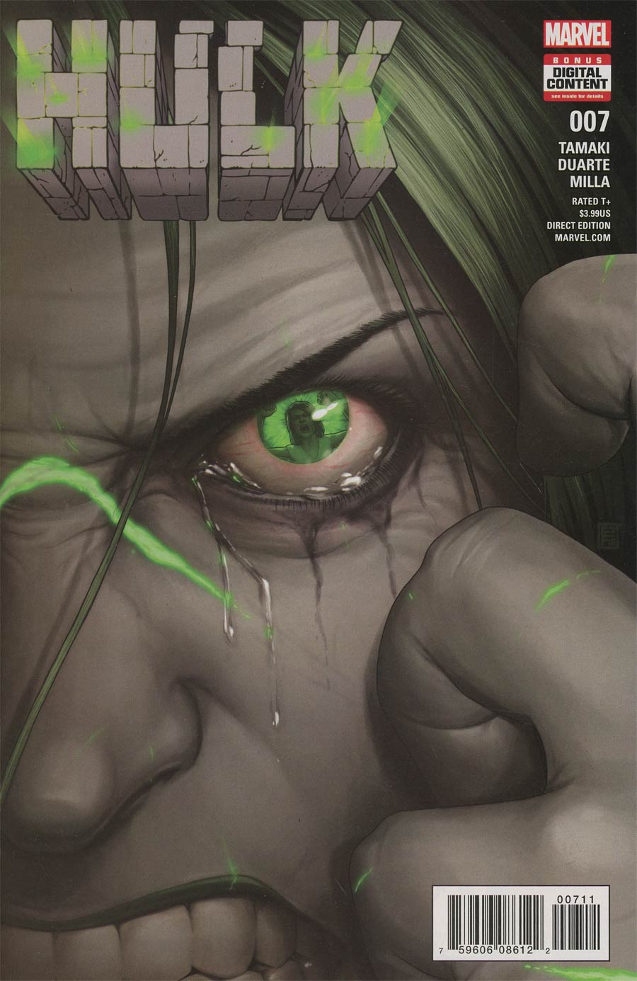 Hulk Vol 4 #7 Cover A Regular John Tyler Christopher Cover