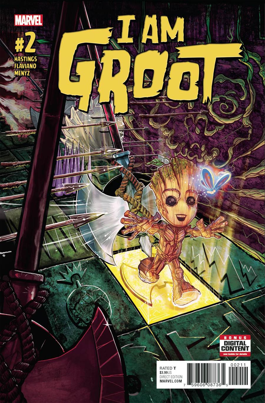 I Am Groot #2 Cover A Regular Marco DAlfonso Cover