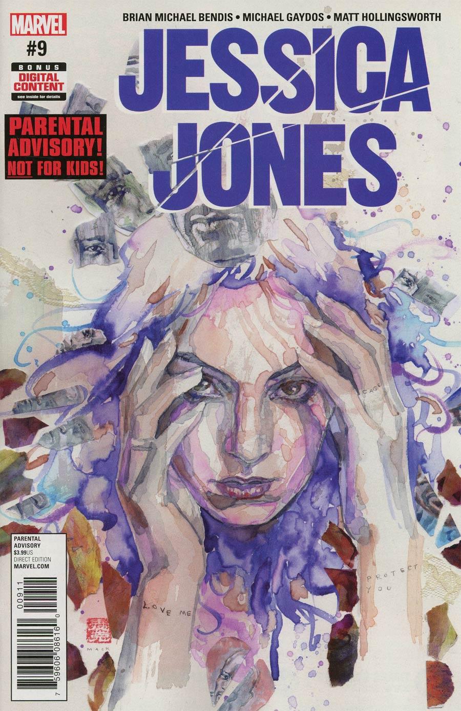 Jessica Jones #9 Cover A Regular David Mack Cover