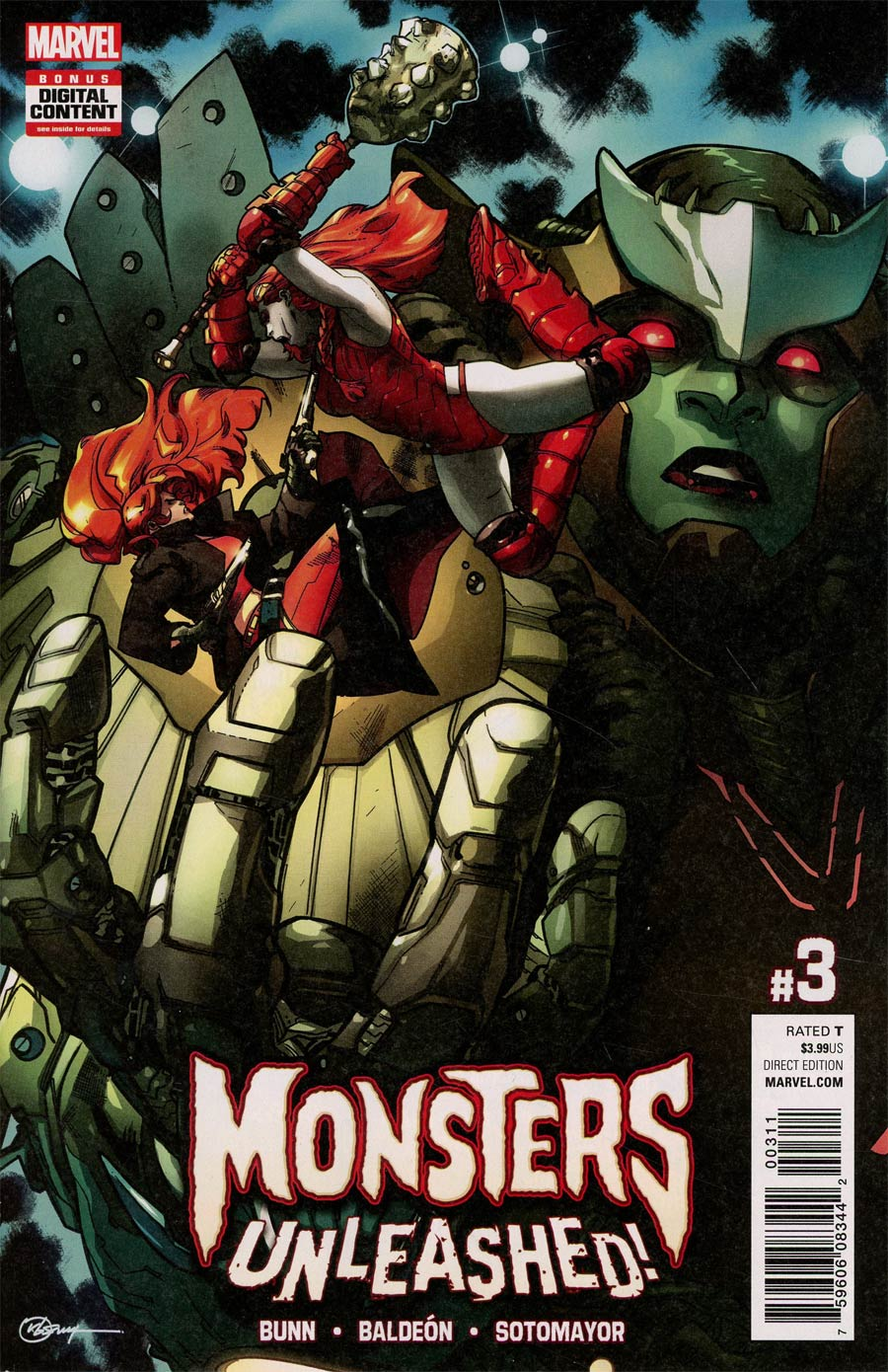 Monsters Unleashed Vol 2 #3 Cover A Regular RB Silva Cover