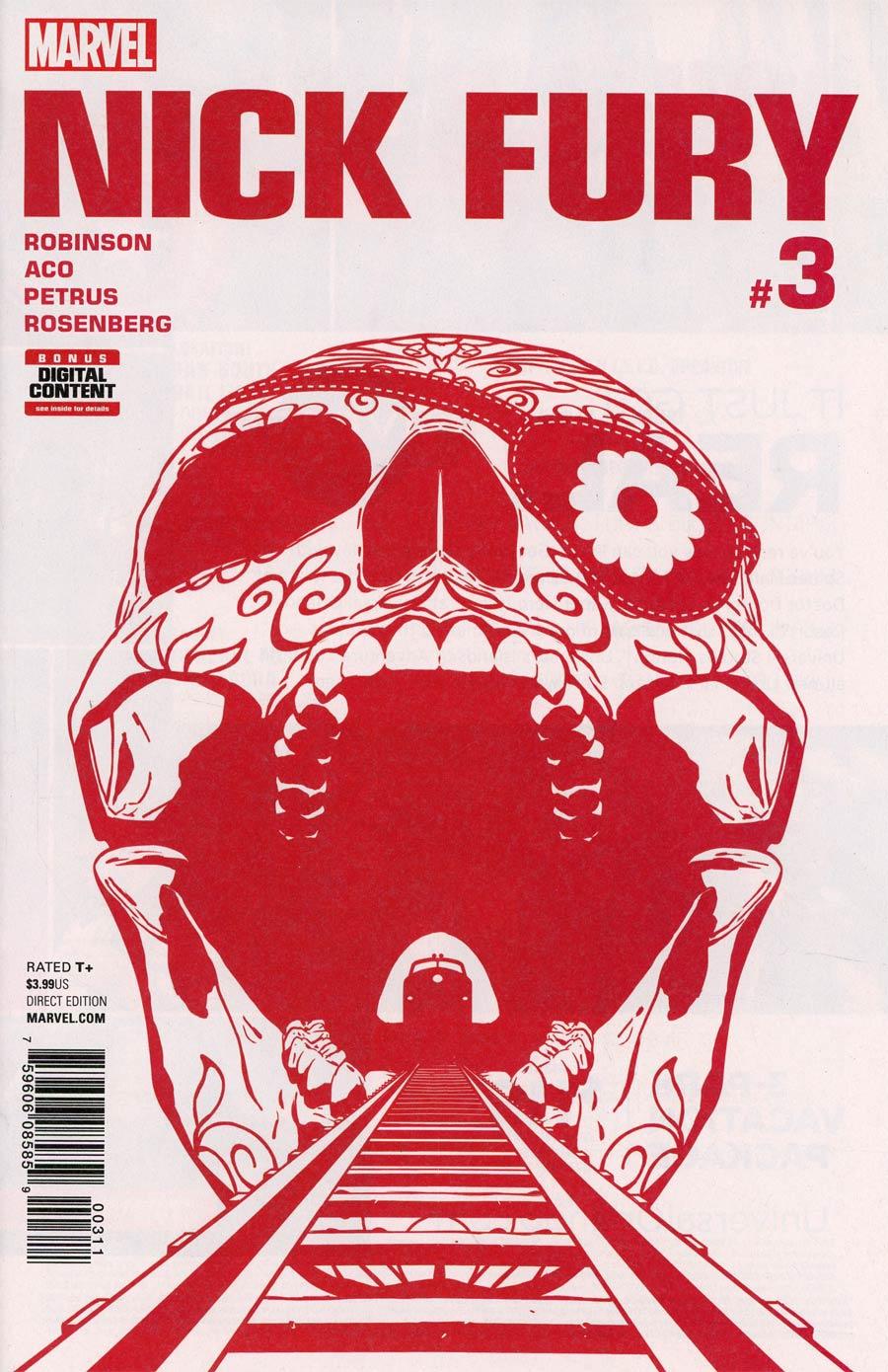 Nick Fury #3 Cover A Regular Aco Cover
