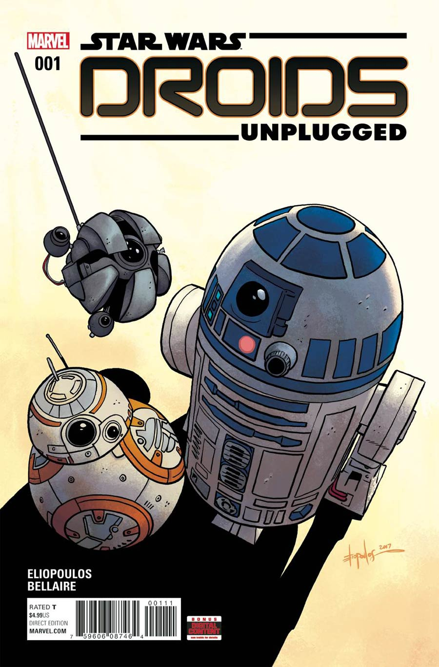 Star Wars Droids Unplugged #1 Cover A Regular Chris Eliopoulos Cover