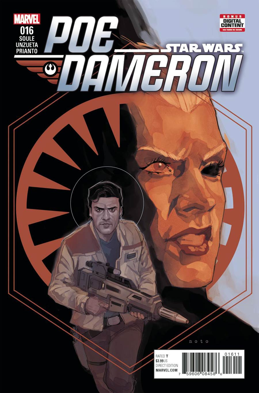 Star Wars Poe Dameron #16 Cover A Regular Phil Noto Cover