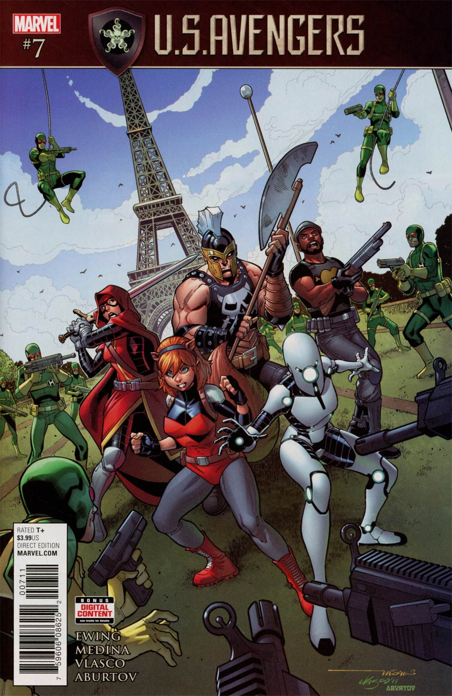 U.S.Avengers #7 (Secret Empire Tie-In)