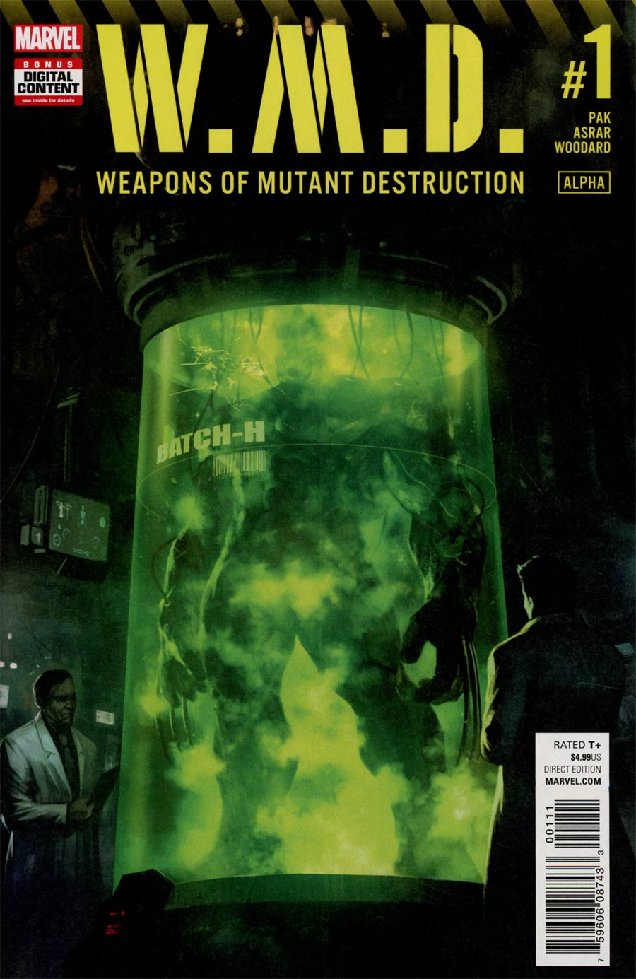 Weapons Of Mutant Destruction Alpha #1 Cover A Regular Skan Cover (Weapons Of Mutant Destruction Part 1)