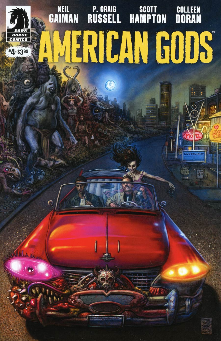 American Gods Shadows #4 Cover A Regular Glenn Fabry Cover