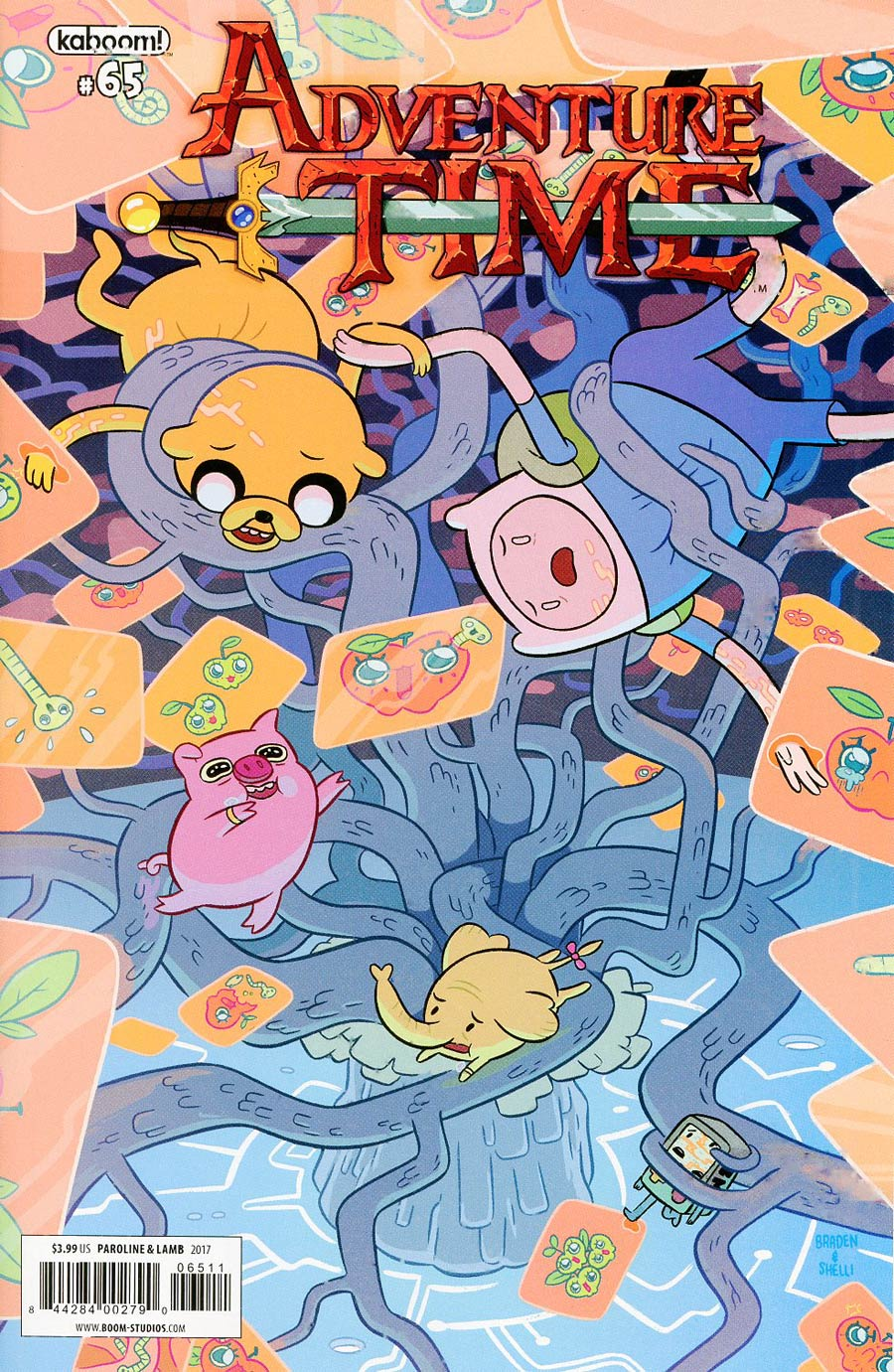 Adventure Time #65 Cover A Regular Shelli Paroline & Braden Lamb Cover