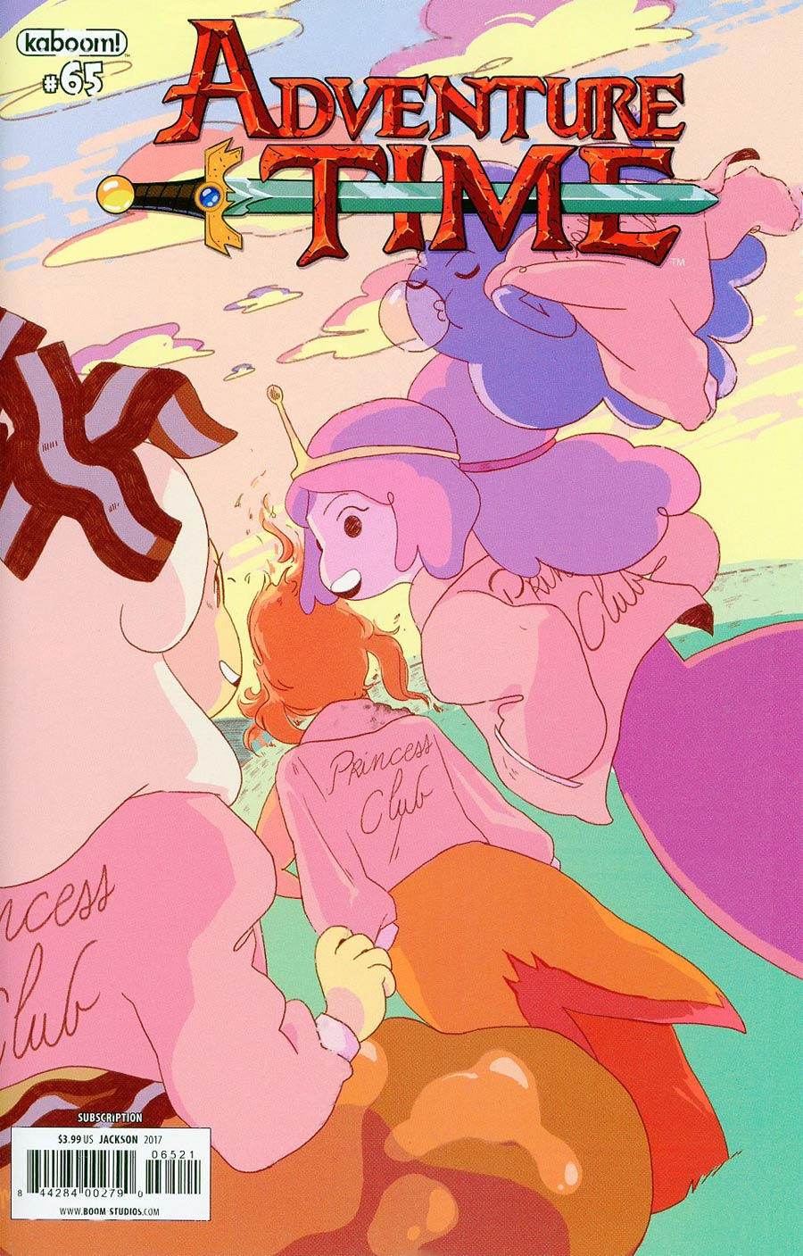 Adventure Time #65 Cover B Variant E Jackson Subscription Cover