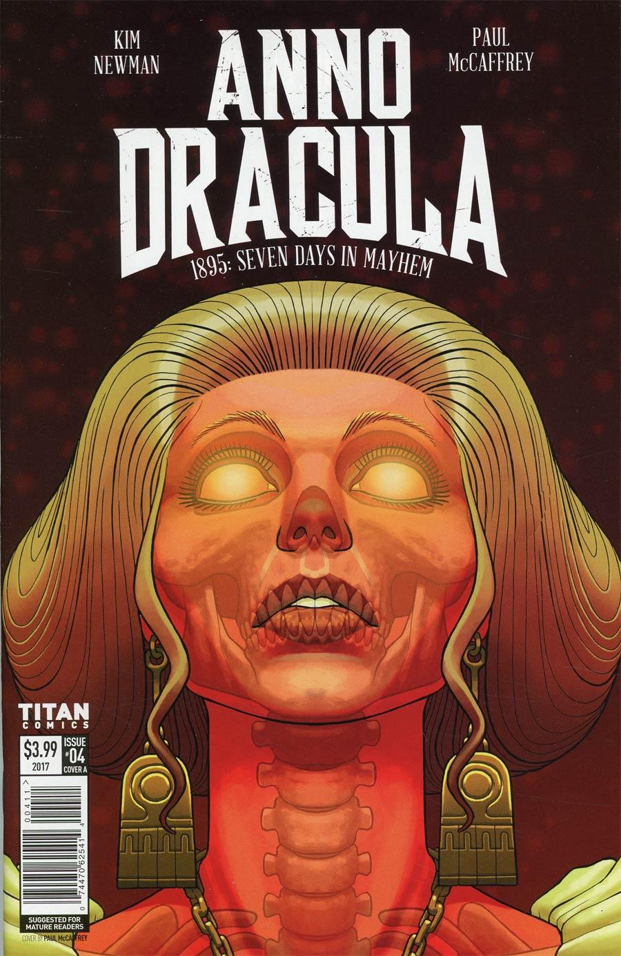 Anno Dracula #4 Cover A Regular Paul McCaffrey Cover
