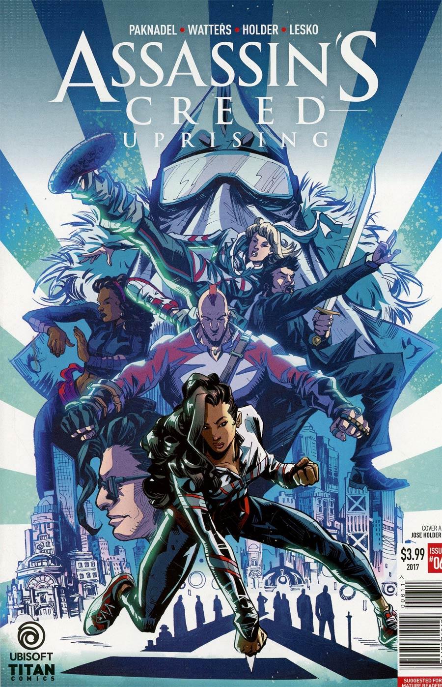 Assassins Creed Uprising #6 Cover A Regular Jose Holder Cover