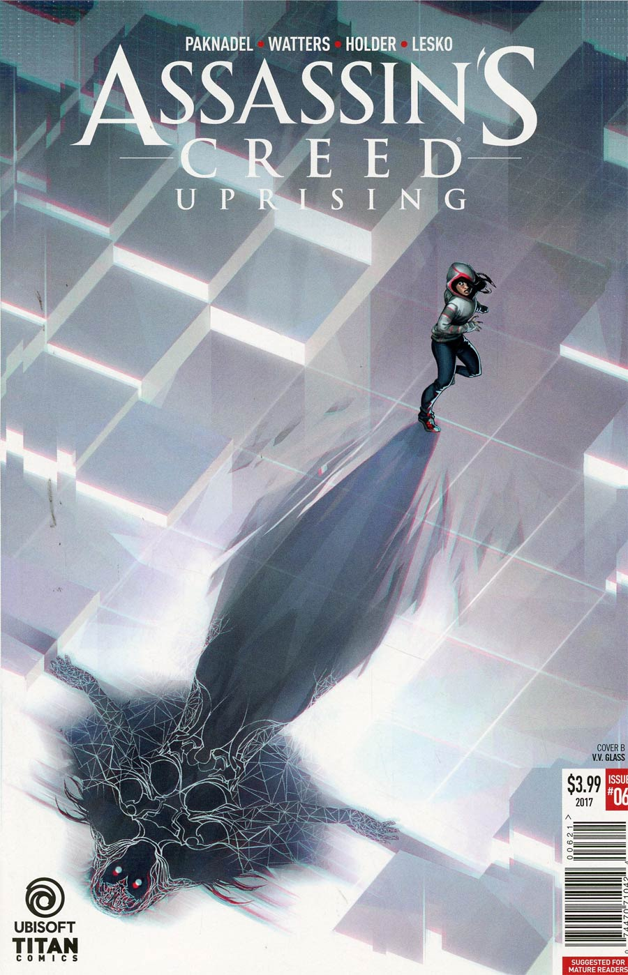 Assassins Creed Uprising #6 Cover B Variant Verity Glass Cover