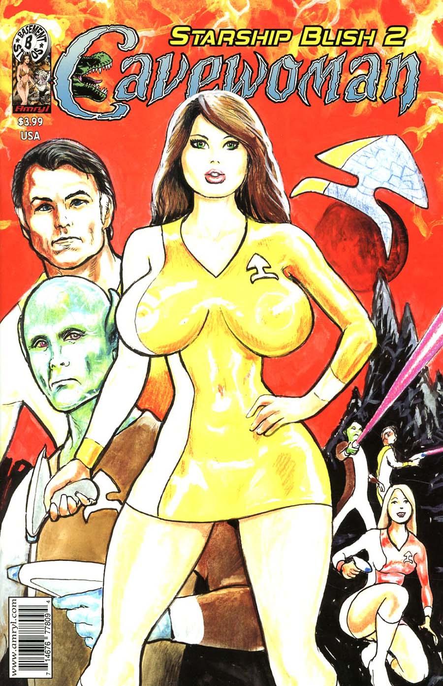 Cavewoman Starship Blish #2 Cover A Regular Devon Massey Cover