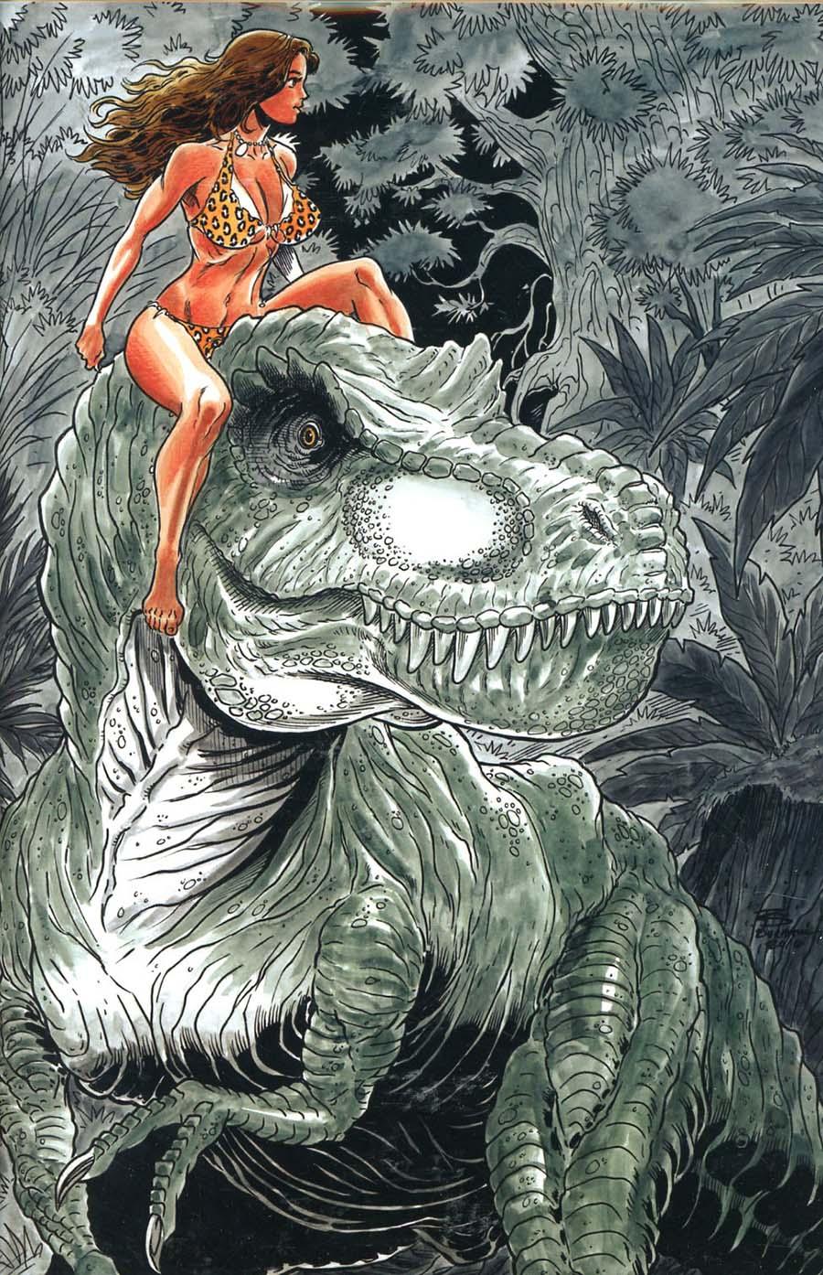 Cavewoman Starship Blish #2 Cover F Variant Rob Durham Cover