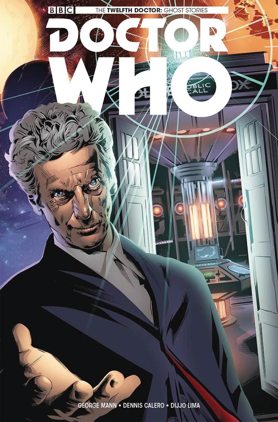 Doctor Who Ghost Stories #3 Cover C Variant Dennis Calero Cover