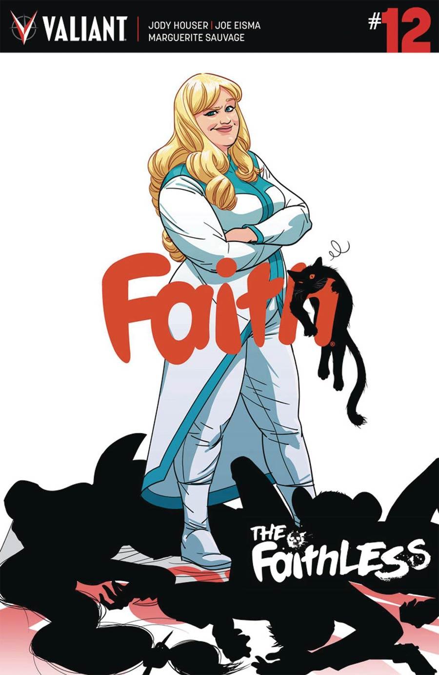 Faith (Valiant Entertainment) Vol 2 #12 Cover A Regular Kano Cover