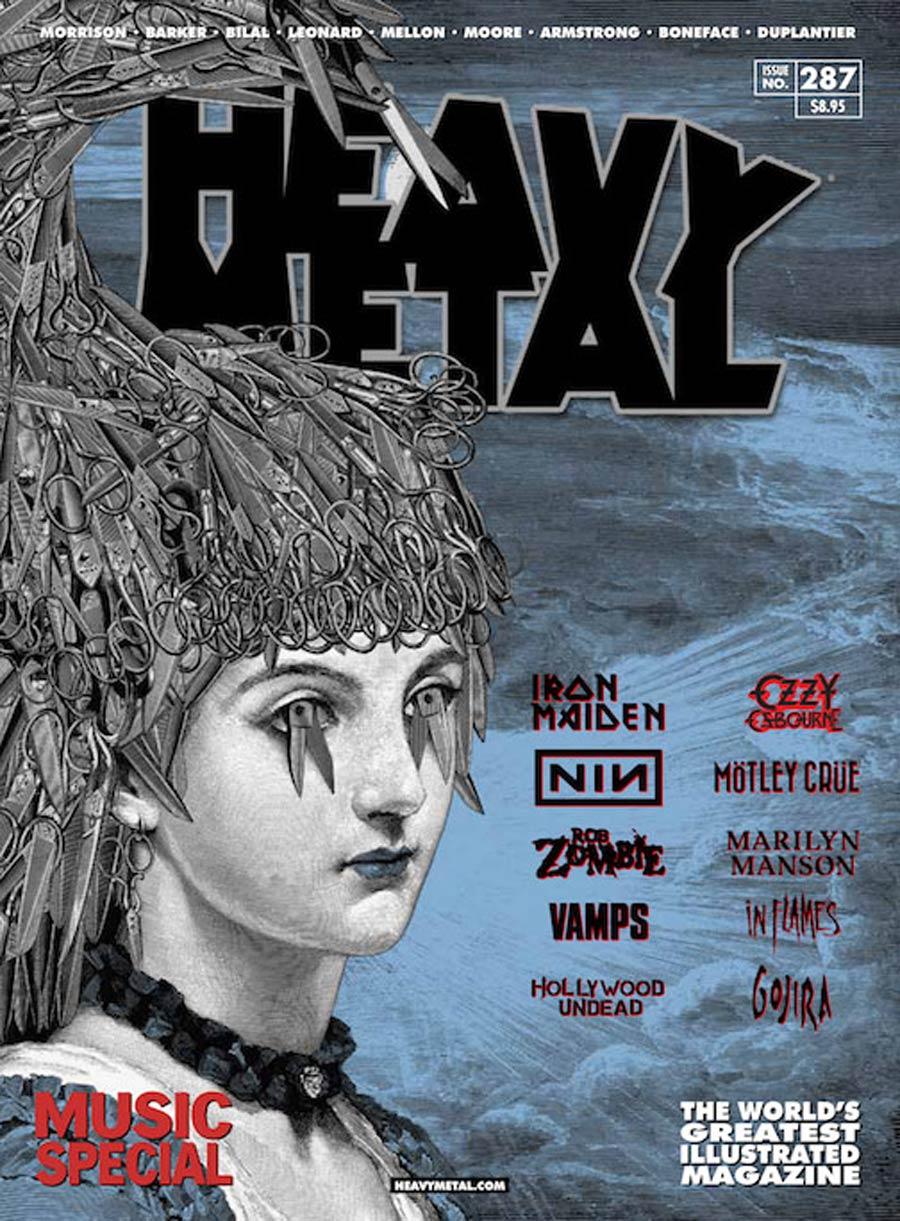 Heavy Metal #287 Cover B Rob Jones