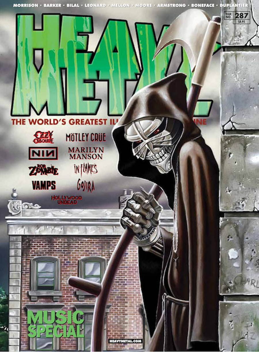 Heavy Metal #287 Cover C Derek Riggs