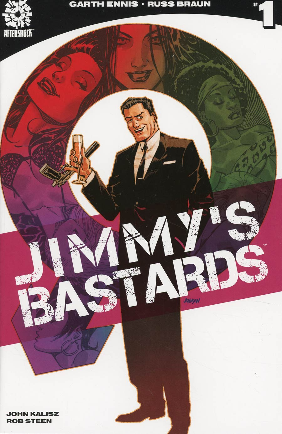 Jimmys Bastards #1 Cover A Regular Dave Johnson Cover