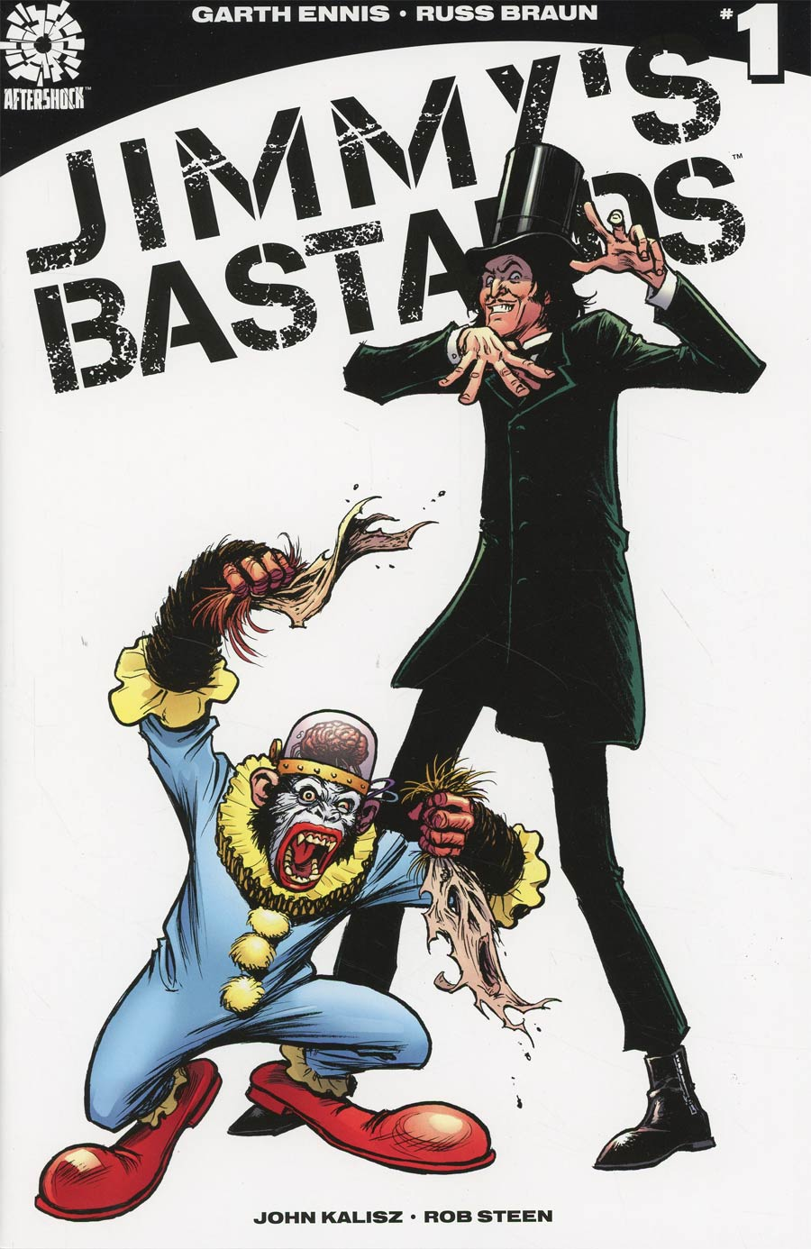 Jimmys Bastards #1 Cover C Variant Russ Braun Cover