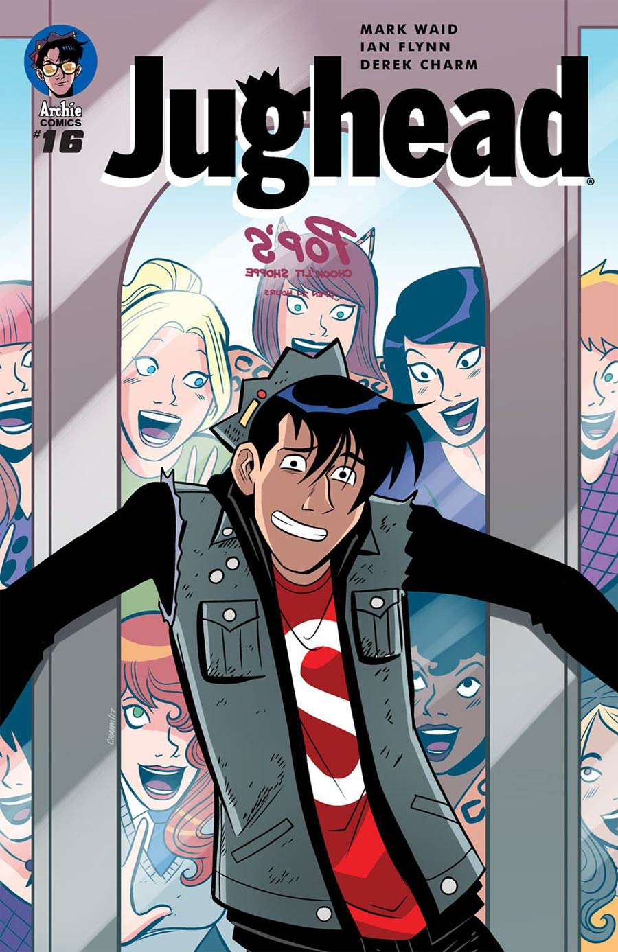 Jughead Vol 3 #16 Cover A Regular Derek Charm Cover