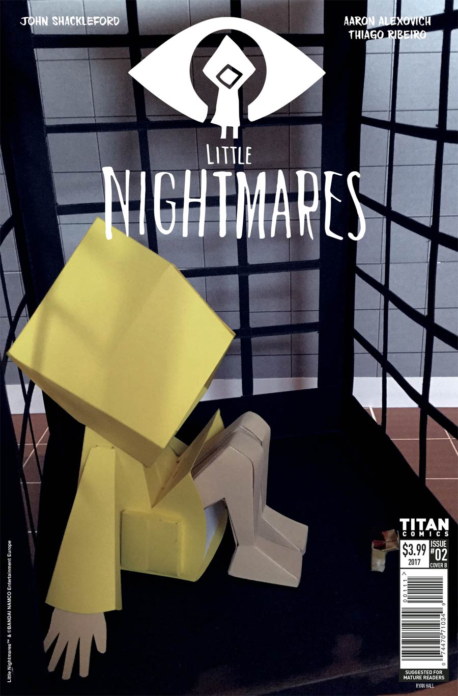Little Nightmares #2 Cover B Variant Ryan Hall Cover