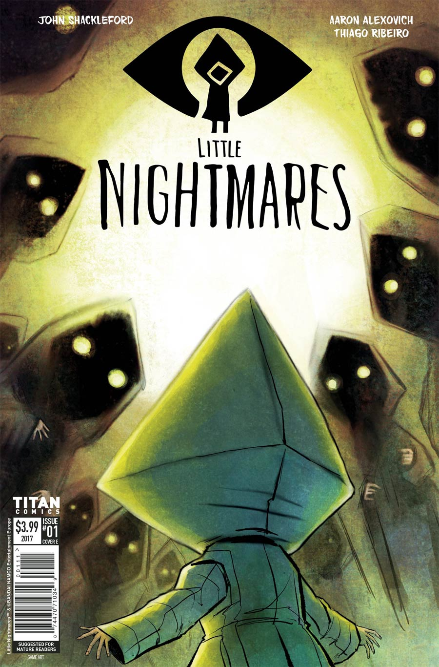 Little Nightmares #2 Cover D Variant Thomas Boatwright Cover