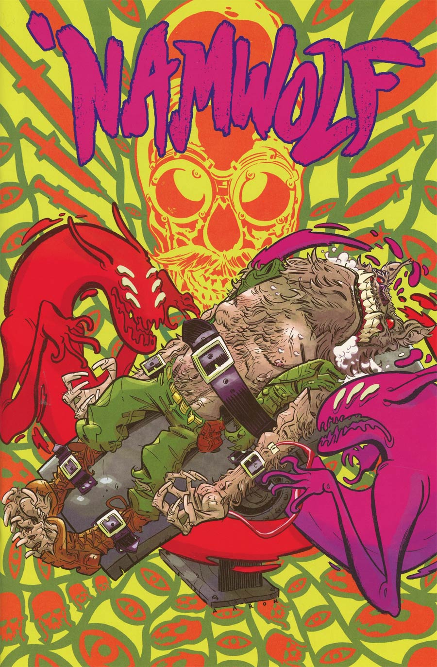 Namwolf #3 Cover B Variant Aaron Conley Special Cover