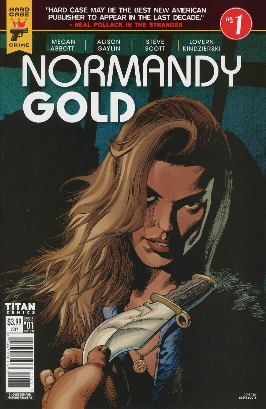 Hard Case Crime Normandy Gold #1 Cover B Variant Steve Scott Cover