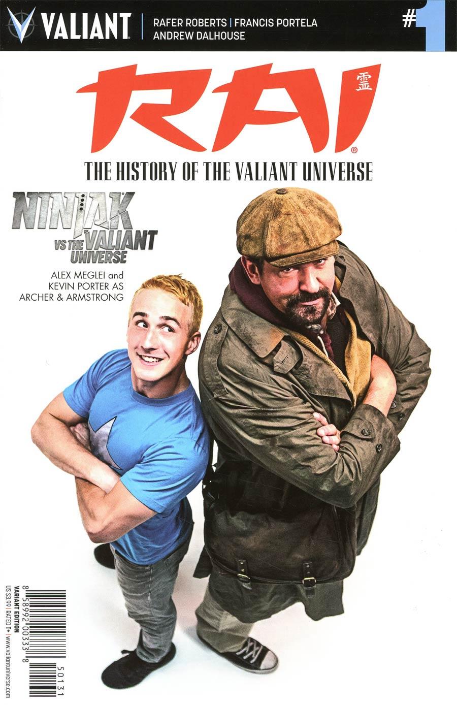 Rai History Of The Valiant Universe #1 Cover C Variant Ninjak vs The Valiant Universe Cover