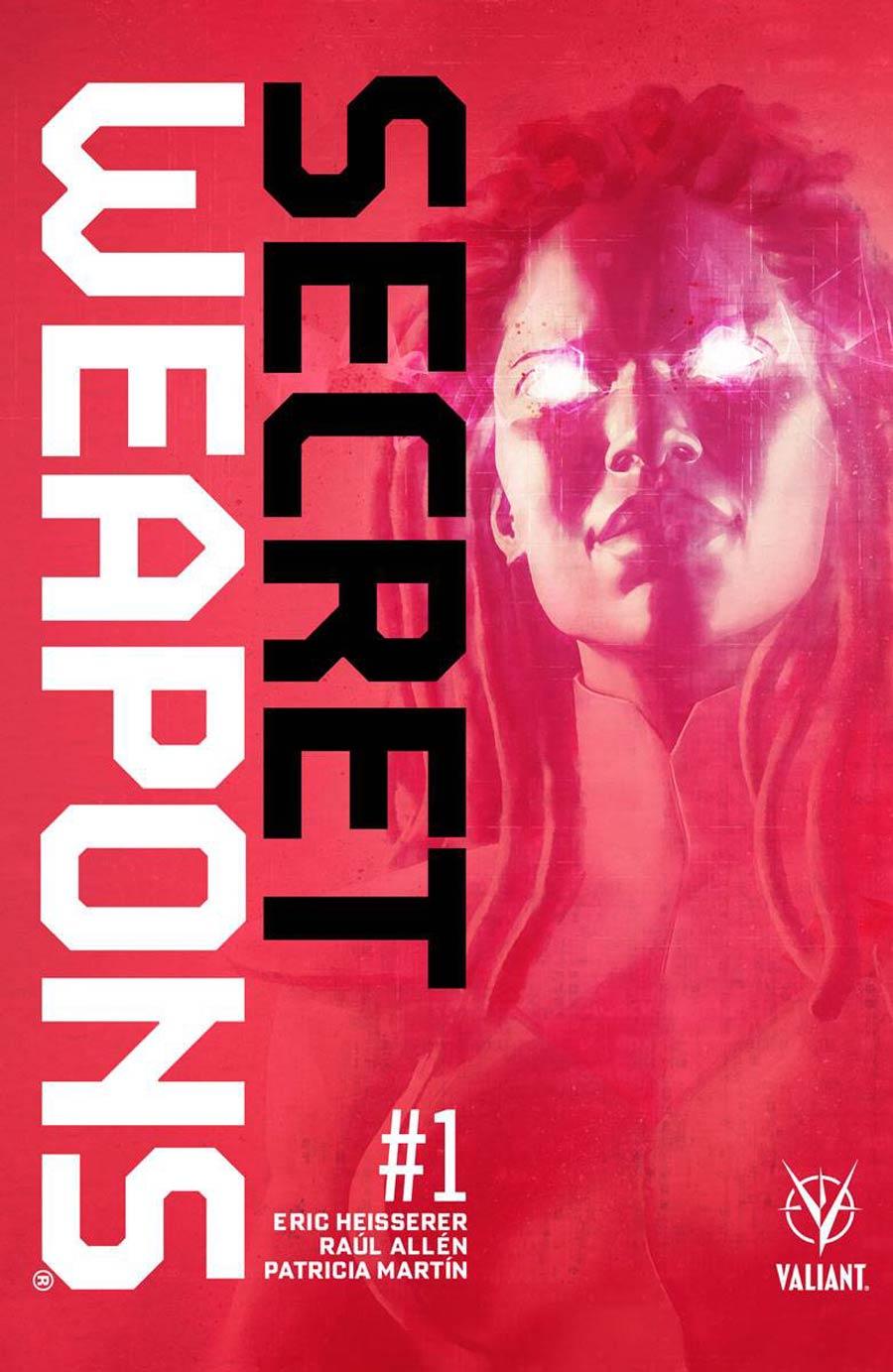 Secret Weapons Vol 2 #1 Cover A Regular Raul Allen Cover